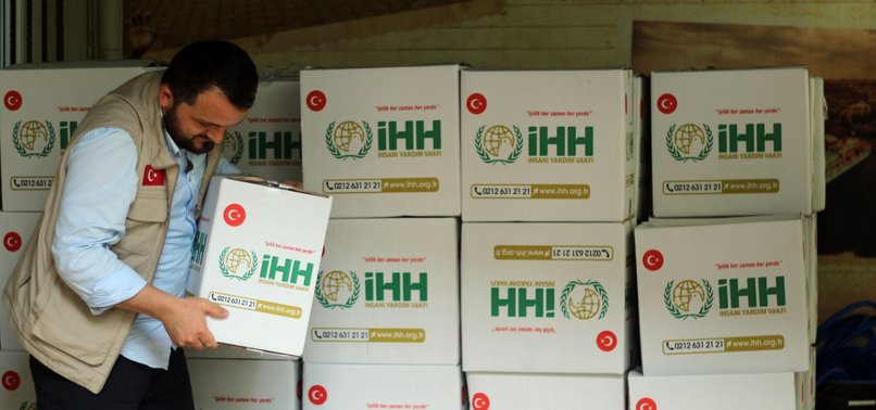 TURKISH BODY DISTRIBUTES 6,000 FOOD PACKAGES IN GAZA