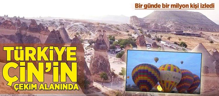 Türkiye Çin'in çekim alanında!