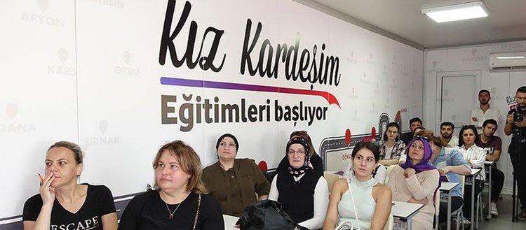 'Kız Kardeşim Projesi' ile yıl sonuna kadar 9 bin kadına ulaşılacak