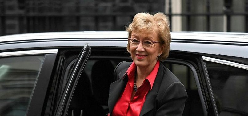 ANDREA LEADSOM RESIGNS FROM BRITISH GOVERNMENT OVER NEW BREXIT APPROACH