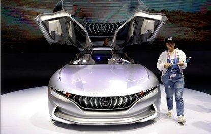 2018 Pekin Uluslararası Otomobil Fuarı'ndan görüntüler