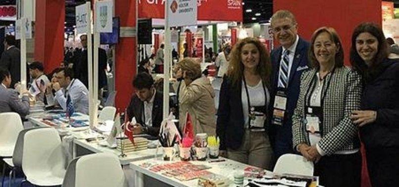 16 TURKISH UNIVERSITIES JOIN EDUCATION FAIR IN US