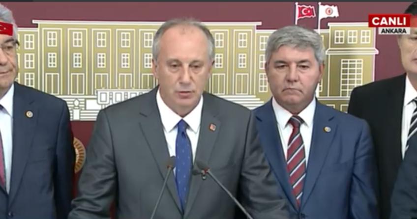 CHP'de büyük kavga! CHP'li İnce'den Kılıçdaroğlu'na flaş çağrı