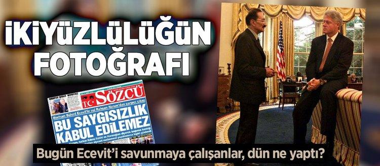 Ecevit'in Oval Ofis'teki o fotoğrafının aşırı acıklı hikayesi