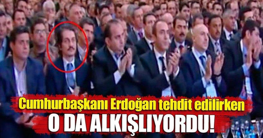 TUSKON'da Cumhurbaşkanı Erdoğan tehdit edilirken