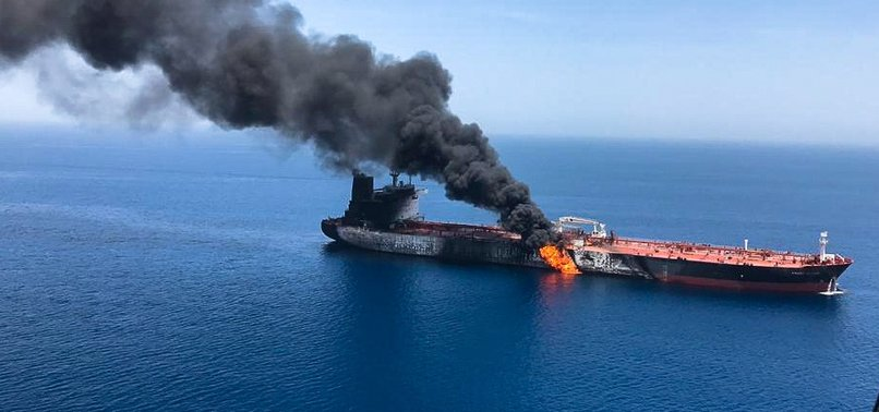 UK SAYS IT AGREES WITH US IRAN BEHIND ATTACKS