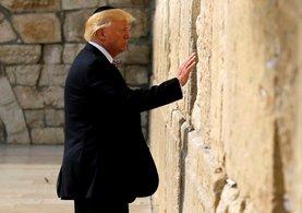 Ağlama Duvarı'nı ziyaret eden ilk başkan