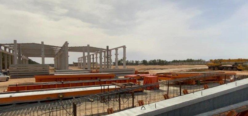 TURKISH FIRM SETS UP LIBYAS LARGEST CONCRETE FACTORY