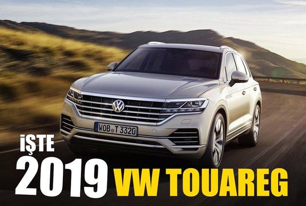 İşte 2019 VW Touareg