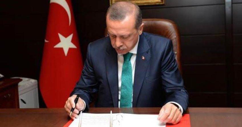 Erdoğan'dan YAŞ kararlarına onay
