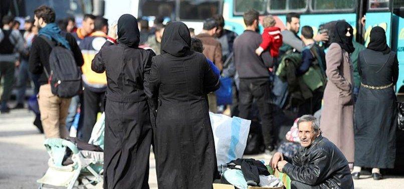 1,055 CIVILIANS EVACUATED FROM SYRIAS AL-QADAM