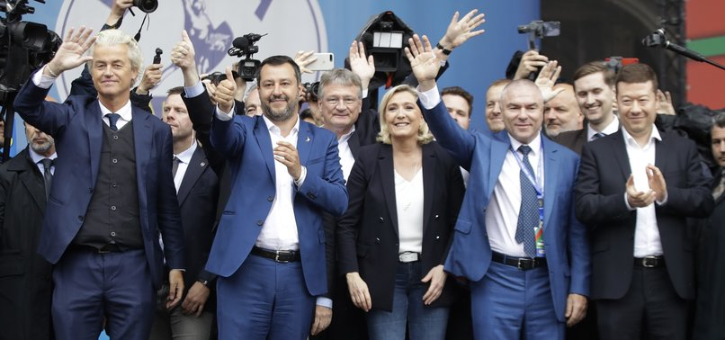 EUROPES FAR-RIGHT LEADERS UNITE, VOW TO CHALLENGE EUROPEAN PROJECT