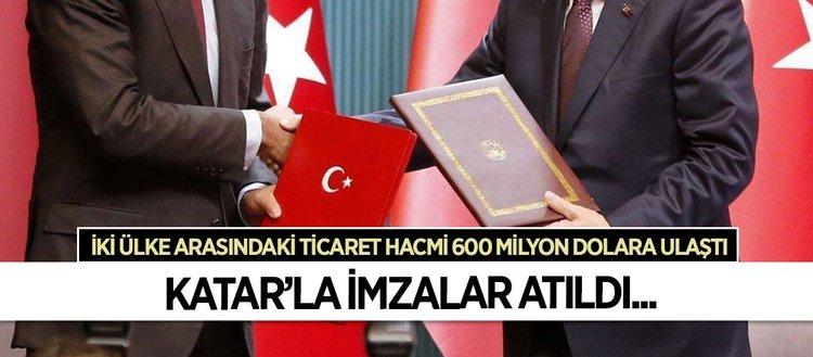 Türkiye ve Katar anlaştı
