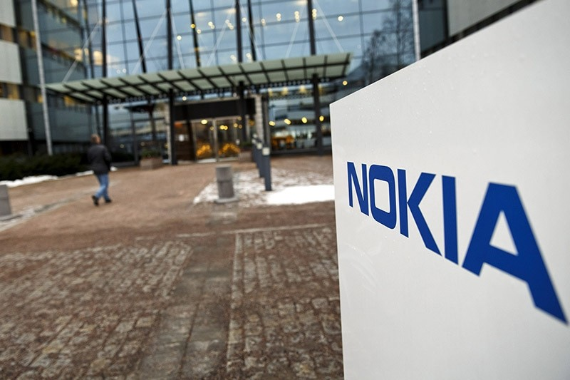 This Jan. 29, 2015 file photo shows the Nokia head offices in Espoo, Finland. (AP Photo)