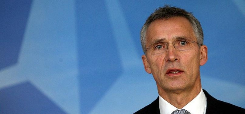 NATO LEADER SAYS TRUMP IS COMMITTED TO MILITARY ALLIANCE