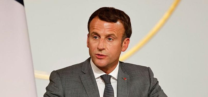 TURKEY HITS OUT AT FRENCH LEADER MACRON FOR MEETING WITH SDC MEMBERS