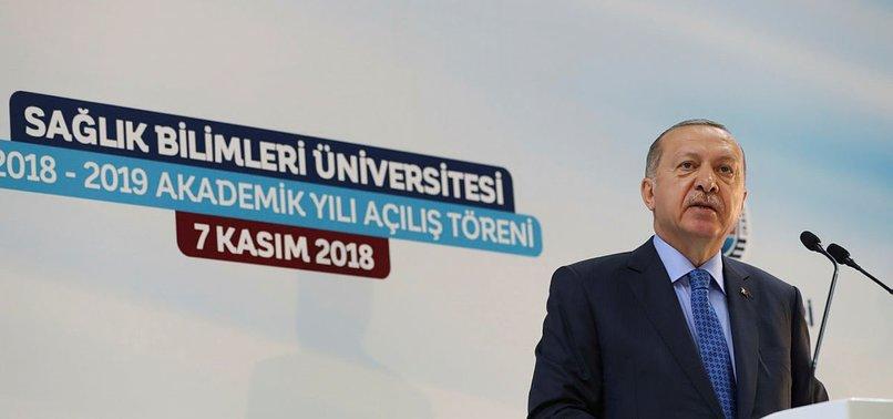 TURKEY TO PRODUCE LOCAL HEALTHCARE EQUIPMENTS: ERDOĞAN