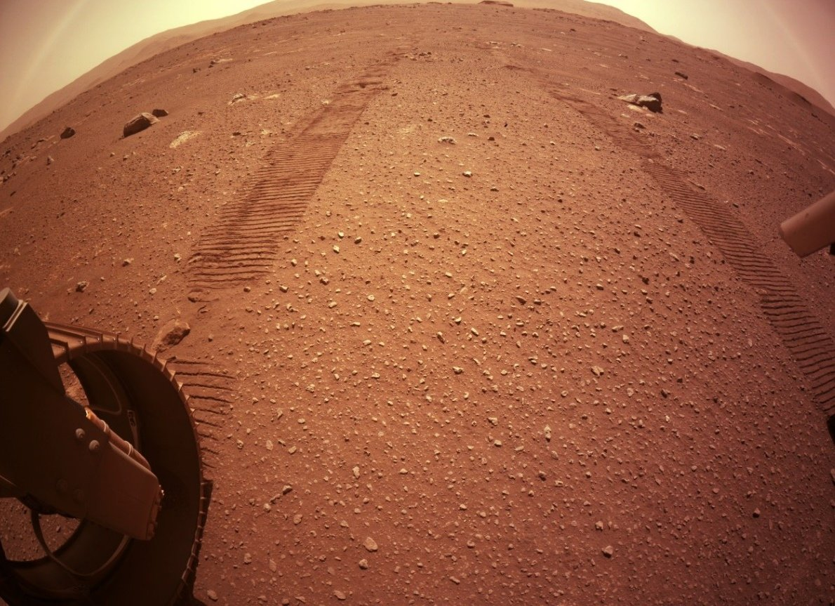 NASA PERSEVERANCE'İN KAYDETTİĞİ MARS SESLERİNİ PAYLAŞTI