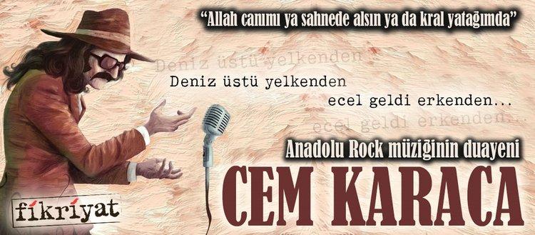 Anadolu Rock müziğinin babası: Cem Karaca