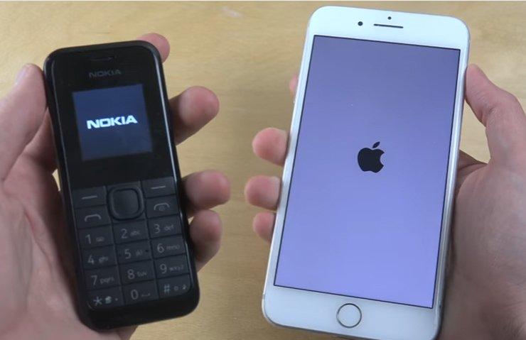 Nokia 105 ile iPhone 7 Plus karşı karşıya!