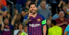 Messi a man on a mission in the Champions League
