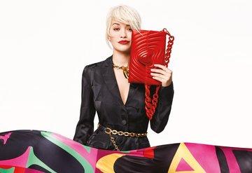 Rita Ora Escada için tasarladı