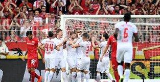 Union Berlin suffer four-goal soaking on Bundesliga debut
