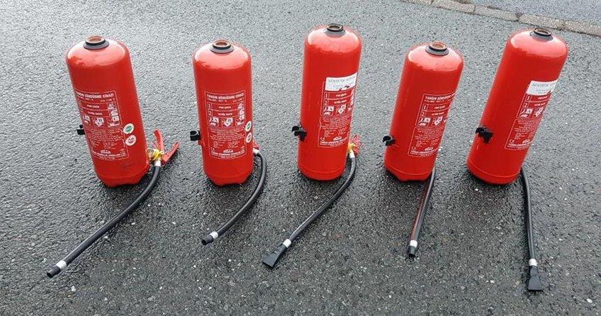 Almanya'da yangın tüpüne eroin yerleştiren 4 Türk tutuklandı