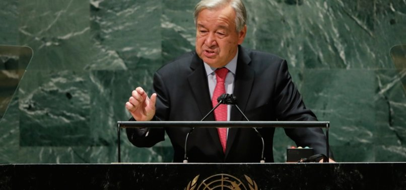 THE WORLD MUST WAKE UP SAYS GUTERRES AS UN GENERAL ASSEMBLY STARTS