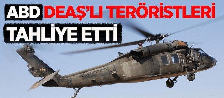 ABD helikopterleri DEAŞ'lı komutanları tahliye etti iddiası