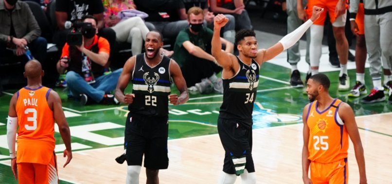 GIANNIS ANTETOKOUNMPO GETS 50, KHRIS MIDDLETON COMES UP CLUTCH FOR CHAMPION BUCKS