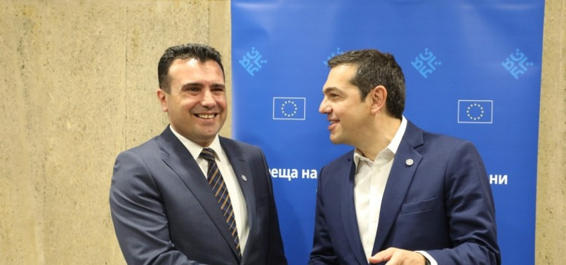 MACEDONIA SAYS SOLUTION 'PROBABLY' FOUND IN NAME DISPUTE WITH GREECE