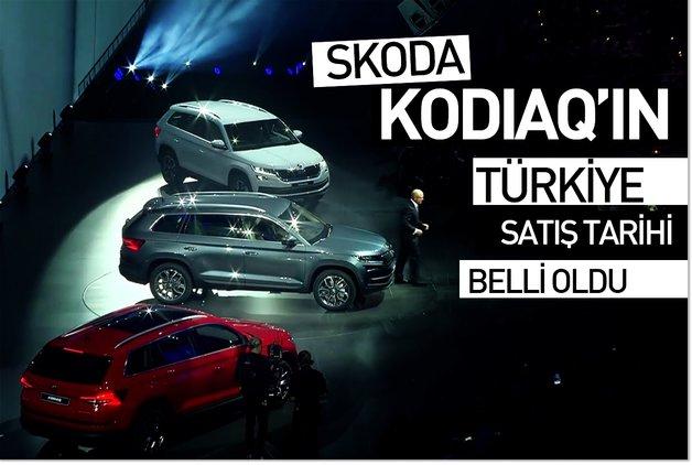 Skoda Kodiaq'ın Türkiye satış tarihi belli oldu