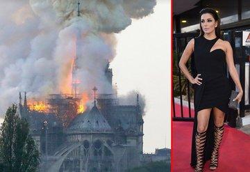 Eva Longoria: Notre Dame de Paris sonsuza dek unutulmayacak