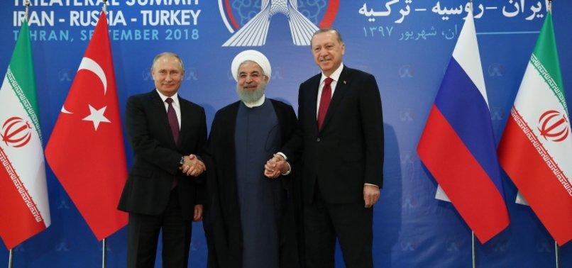 UN, TURKEY, IRAN, RUSSIA TO TALK ON SYRIAN CONSTITUTION