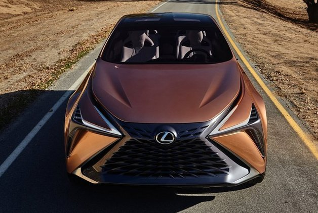 2018 Lexus F-1 Limitless Concept