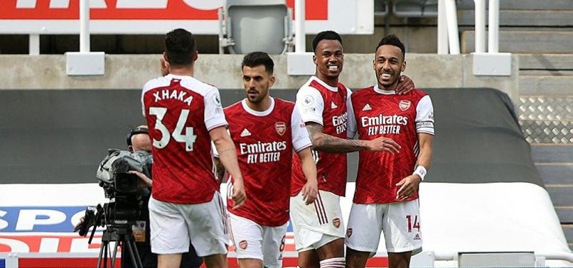 AUBAMEYANG BOOSTS ARSENAL IN 2-0 WIN AT NEWCASTLE