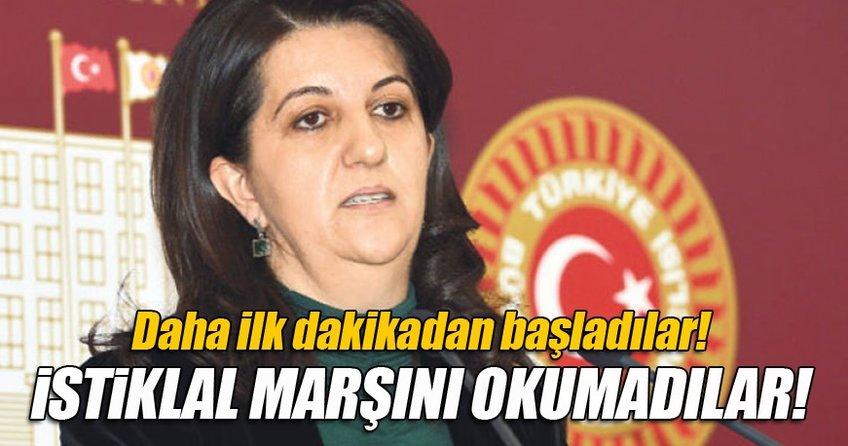 Meclis açılışında Buldan İstiklal Marşı okumadı
