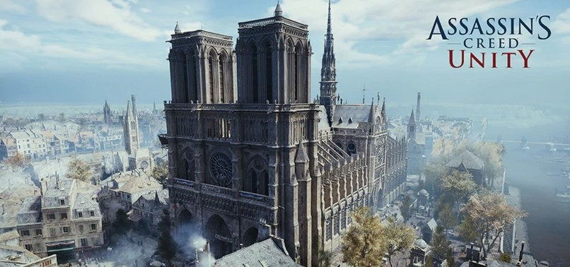 UBISOFT OFFERS ASSASSIN'S CREED UNITY FOR FREE SO GAMERS CAN EXPERIENCE BEAUTY OF NOTRE DAME