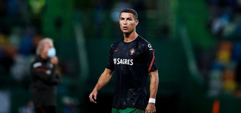 PORTUGUESE FOOTBALL STAR RONALDO CONTRACTS CORONAVIRUS