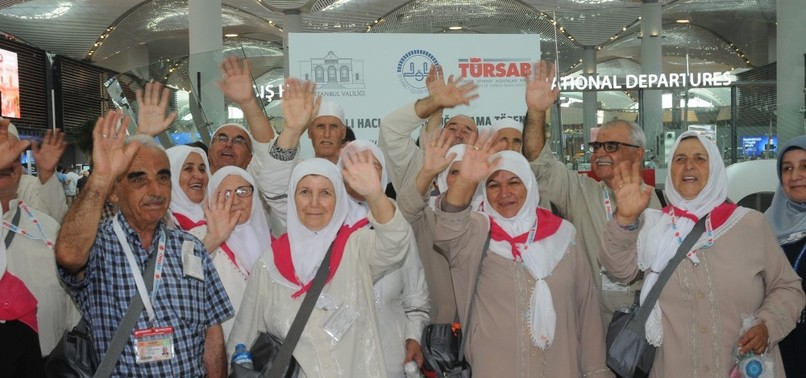 First group of Turkish pilgrims head for hajj - anews