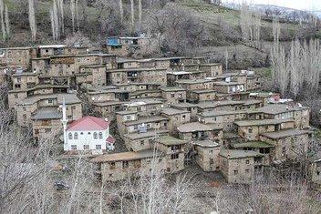 Hizanın taş evleri