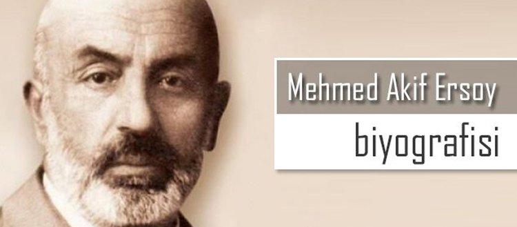 Mehmed Akif Ersoy Biyografisi