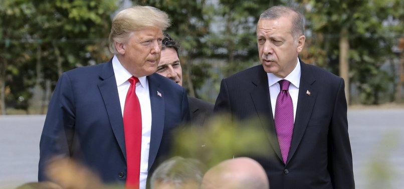 Erdoğan, Trump discuss bilateral relations in phone call