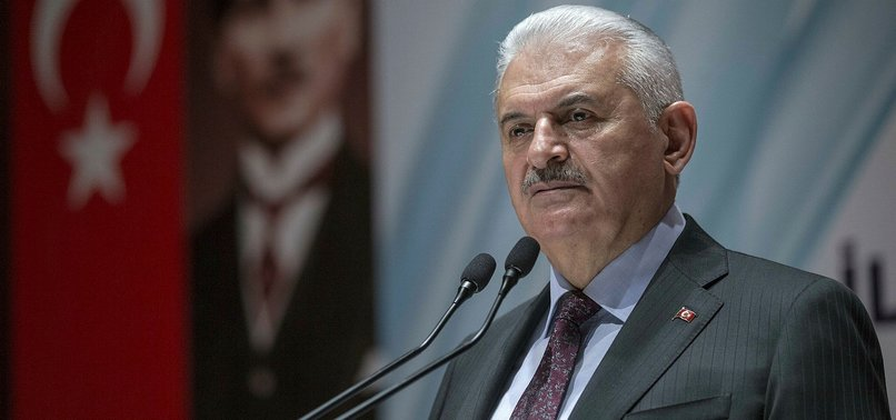 TURKEY TO NOT ALLOW TERRORIST GROUPS ALONG BORDERS: PM YILDIRIM