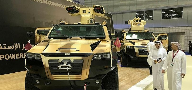 NEW TURKISH ARMORED VEHICLES SHOWCASED AT DOHA EXPO