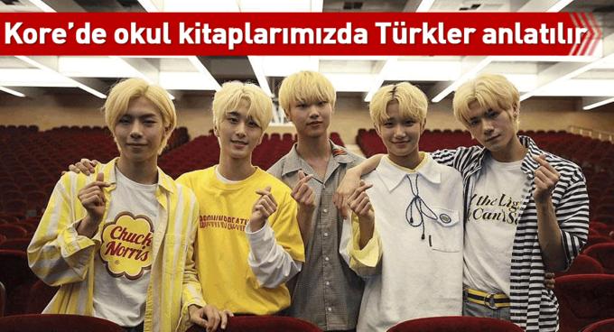 Kore'de okul kitaplarımızda Türkler anlatılır