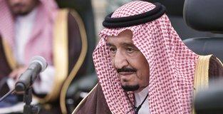 Saudi king backs US efforts for Palestine-Israel talks