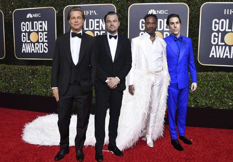77. Altın Küre Ödülleri Kırmızı Halı Şıklığı Golden Globes 2020