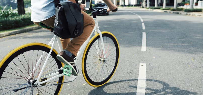 CYCLING GOOD FOR HEALTH, SOCIAL DISTANCING